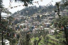 Opinión sobre Dharamsala fotos de archivo libres de regalías