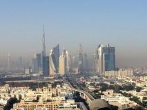 Opinión sobre Dubai céntrico fotos de archivo