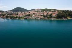 Opinión sobre Dubrovnik Fotografía de archivo libre de regalías