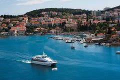 Opinión sobre Dubrovnik, Croatia Fotografía de archivo libre de regalías