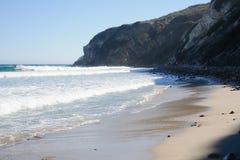 Opinión sobre Duma Point, Malibu California Imagen de archivo