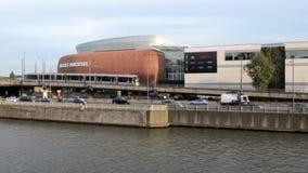 Opinión sobre el canal de Bruselas y de los muelles Bruxsel - nuevas compras almacen de metraje de vídeo