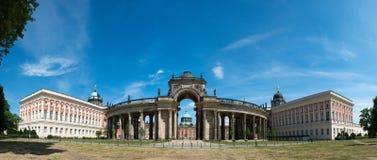 Opinión sobre el Communs, la parte de la universidad de Potsdam foto de archivo
