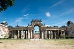 Opinión sobre el Communs, la parte de la universidad de Potsdam imagenes de archivo
