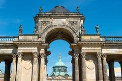 Opinión sobre el Communs, la parte de la universidad de Potsdam foto de archivo libre de regalías