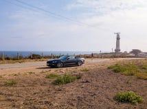 Opinión sobre el convertible de Ford Mustang GT Fotos de archivo