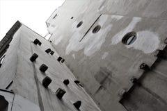 Opinión sobre el edificio inusual en Austria Imagen de archivo libre de regalías