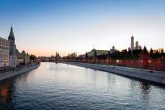 Opinión sobre el Kremlin Foto de archivo