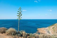 Opinión sobre el Mar Egeo fotos de archivo libres de regalías