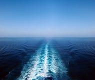 Opinión sobre el mar Mediterráneo Fotografía de archivo