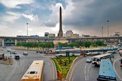 Opinión sobre el monumento de la victoria Foto de archivo