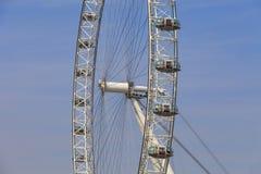 Opinión sobre el ojo en un día soleado, Londres, Reino Unido de Londres Imagen de archivo libre de regalías