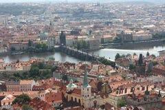 Opinión sobre el puente de Karl Imágenes de archivo libres de regalías