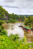 Opinión sobre el río Kwai. Imagen de archivo