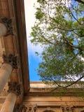 Opinión sobre el top del patio de la universidad de La Habana foto de archivo