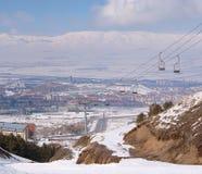 Opinión sobre Erzurum. Turquía Imagen de archivo