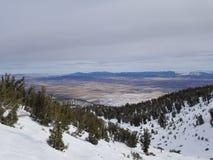 Opinión sobre High Sierra del centro turístico divino fotografía de archivo libre de regalías