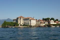 Opinión sobre Isola Bella Imagenes de archivo