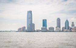 Opinión sobre Jersey City Foto de archivo libre de regalías