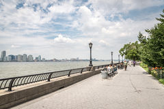 Opinión sobre Jersey City Fotografía de archivo libre de regalías