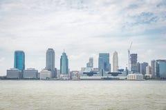 Opinión sobre Jersey City Imágenes de archivo libres de regalías