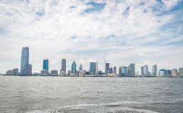 Opinión sobre Jersey City Imagen de archivo