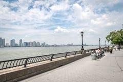 Opinión sobre Jersey City Fotos de archivo libres de regalías