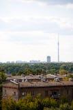 Opinión sobre la ciudad Imagenes de archivo