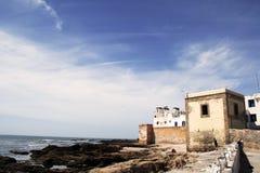 Opinión sobre la ciudad de Essaouira, Marruecos Imagenes de archivo