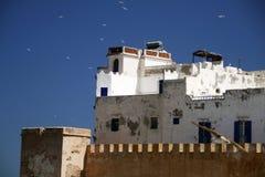 Opinión sobre la ciudad de Essaouira, Marruecos Imagen de archivo libre de regalías
