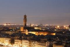 Opinión sobre la ciudad de Florencia. Italia. Imágenes de archivo libres de regalías