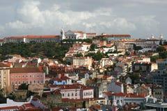 Opinión sobre la ciudad Lisboa Fotografía de archivo libre de regalías