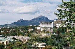 Opinión sobre la montaña Beshtau. Fotos de archivo