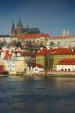 Opinión sobre la Praga Foto de archivo