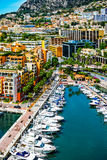 Opinión sobre Mónaco fotos de archivo libres de regalías