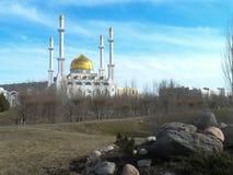 Opinión sobre mezquita Fotografía de archivo