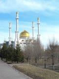 Opinión sobre mezquita Fotos de archivo libres de regalías