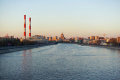 Opinión sobre Moscú fotografía de archivo