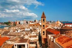 Opinión sobre Nápoles. Italia Foto de archivo