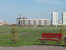 Opinión sobre nuevos edificios Imagen de archivo