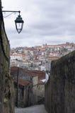 Opinión sobre Oporto Imagenes de archivo