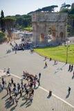 Opinión sobre Roma Foto de archivo