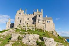 Opinión sobre St Michaels Mount Marazion Cornwall England Reino Unido imágenes de archivo libres de regalías