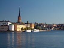 Opinión sobre Stokholm Imágenes de archivo libres de regalías