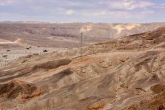Opinión sobre el desierto Fotografía de archivo libre de regalías