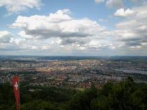 Opinión sobre Zurich Fotos de archivo