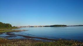 Opinión sueca de la ciudad Fotografía de archivo libre de regalías