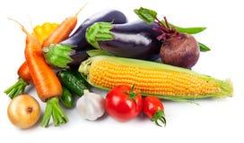 Opinión superior aún de la vida fresca de las verduras Fotos de archivo