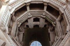 Opinión superior bien de Adalaj Stepp fotos de archivo libres de regalías