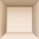 Opinión superior de la caja Imágenes de archivo libres de regalías